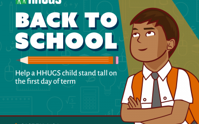 Help a HHUGS Child Stand Tall on the First Day of Term