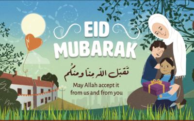 Eid Mubarak from HHUGS!